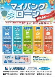 優遇金利キャンペーン【マイバンクローン】