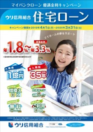 ウリ信用組合【住宅ローン】マイバンクローン優遇金利キャンペーン